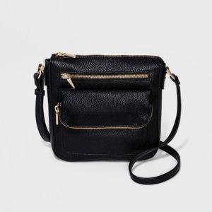 A NEW DAY black crossbody bag